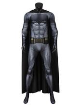 Fasching Batman DC Comics Kostüm Cosplay Anzug Bruce Wayne Justice League Catsuit