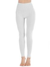 Leggings für Frauen Cosy Polyester Stretch Elastic Waist Skinny Damen Leggings