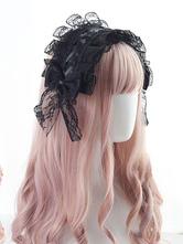 Gothic Lolita pizzo copricapo Bow Lolita fascia