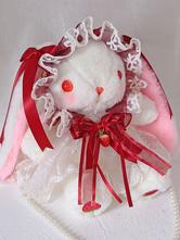 Sweet Lolita Bag Bunny LacePearls Bow Shoulder Bag
