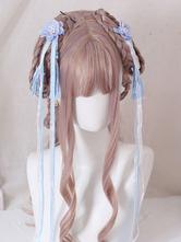 Chinesischer Stil Lolita Kopfschmuck Blumen Quaste Kopfbedeckung Han Lolita Zubehör