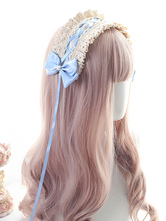Sweet Lolita Kopfschmuck Spitze Schleifen Stirnband Lolita Haarschmuck