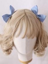 Sweet Lolita Bows Kopfschmuck Baby Blue Lolita Haarschmuck