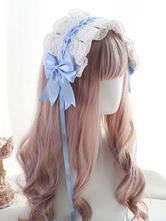 Süßer Lolita Kopfschmuck Spitzenbögen Lolita Stirnband