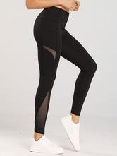 Slimming Leggings Shaping poliéster calças das mulheres da ioga
