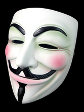 Anonymous Mask V For Vendetta Guy Fawkes Carnival Cosplay Hacker Mask