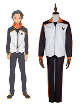 Re Life In A Different World From Zero Subaru Natsuki Cosplay Costume
