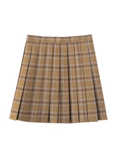 School Uniform Plaid JK Skirt