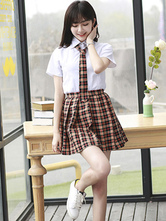 School Uniform JK Outfit Plaid Cotton Anime Merchandise