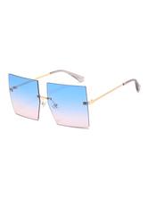 Óculos femininos Beach Blue Beach Óculos sem aro