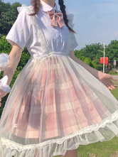 Sweet Lolita SK Lolita Sheer Suspender Skirts