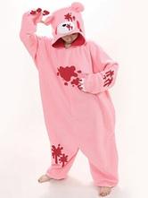 Pijamas Kigurumi Gloomy Bear Onesie Adultos Unisex Franela Invierno Ropa de dormir Disfraz Cosplay Carnaval