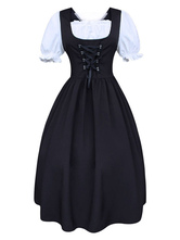 Trajes retrô feminino vestido vintage traje do século 18 Cosplay Halloween