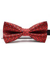 Männer Fliege Kleid Krawatte Rot Cosplay Kostüm Karneval Kostüm Accessoires