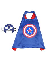 Marvel Comics Captain America Kid Cape Costume Accessori Costume Cosplay Halloween