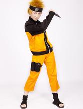 Anime Naruto Shippuden Uzumaki Naruto Halloween Cosplay Costume