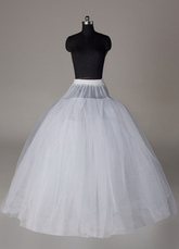 Wedding Petticoat fwhite ull gown 4 tier bridal crinoline slip