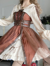 Steampunk Lolita Accessories Coffee Brown Miscellaneous Lolita Sleeve