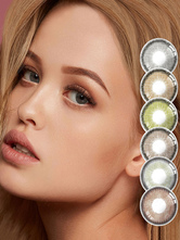 Colored Contact Lenses With Prescription Circle Lenses Online Eye Makeup Color Contacts