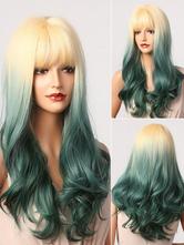 Highlighting Hair Lolita Wig Dark Green Lolita Accessories