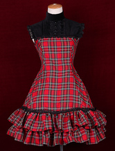 Sleeveless Stand Collar Classic Lolita Dress