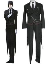 Anime Costumes AF-S2-152678 Black Butler Kuroshitsuji Sebastian Michaelis Halloween Cosplay Costume