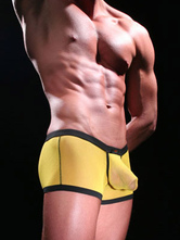 Piping Tulle Mens Trunks Shorts