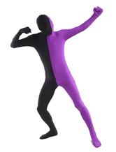 Anime Costumes AF-S2-206918 Black Purple Lycra Spandex Full Body Zentai Suit