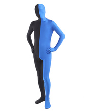 Anime Costumes AF-S2-206946 Halloween Black Blue Lycra Spandex Full Body Zentai Suit
