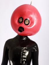 Anime Costumes AF-S2-234750 Halloween Red Latex Inflatable Hood