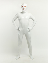 Anime Costumes AF-S2-252102 Halloween White Open Mouth And Open Eyes Designed Unisex PVC Clothes