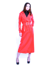 Anime Costumes AF-S2-261266 Halloween Glitter Red Unisex Trendy Latex