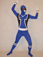 AF-S2-277178 Halloween Special Unisex Super Sentai Series Lycra Spandex Stylish Multicolor Zentai Suits