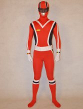 AF-S2-277180 Halloween Stylish Super Sentai Series Lycra Spandex Cool Multicolor Zentai Suits