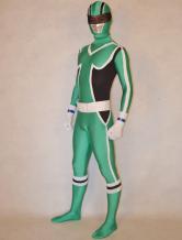 AF-S2-277176 Halloween Chic Unisex Super Sentai Series Lycra Spandex Cool Multicolor Zentai Suits