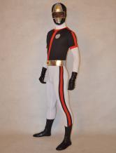 Anime Costumes AF-S2-277150 Halloween Cute Unisex Super Sentai Series Lycra Spandex Stylish Multicolor Zentai Suits