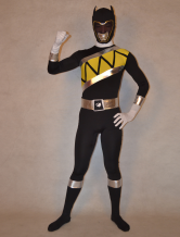 AF-S2-277166 Halloween Featurely Unisex Super Sentai Series Lycra Spandex Multicolor Zentai Suits