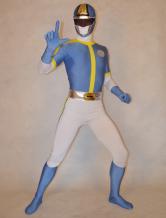 Anime Costumes AF-S2-277152 Halloween Handsome Unisex Super Sentai Series Lycra Spandex Cool Multicolor Zentai Suits