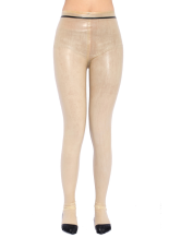 Toussaint Cosplay Transparent de zentai Skinny rayures impression Latex Déguisements Halloween