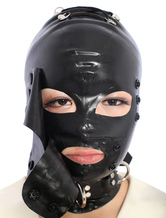 Anime Costumes AF-S2-290034 Halloween Latex Hood with Eyes & Mouth Opened and Back Laced up