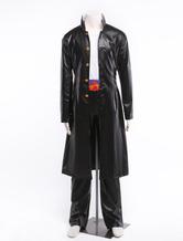 Anime Costumes AF-S2-304842 JoJo's Bizarre Adventure Kujo Jotaro Leather Anime Character Costume