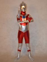 Anime Costumes AF-S2-308784 Halloween Special Multi Color Superheros Full Body Shiny Metalic Unisex Multi Color Zentai Suit