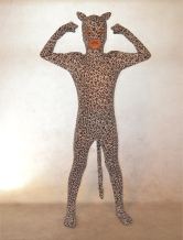 Anime Costumes AF-S2-308748 Halloween Fashionable Multi Color Unisex Leopard Print Lycra Spandex Special Lycra Animal Zentai