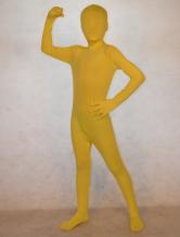 Cool желтый унисекс лайкры спандекс моды Unicolor Зентаи костюмы  Хэллоуин