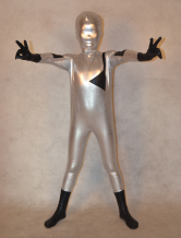 Anime Costumes AF-S2-308818 Halloween Multi Color Superheros Full Body Shiny Metalic Unisex Multi Color Zentai Suit