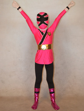Anime Costumes AF-S2-308780 Pink Power Ranger Zentai Suit for Kid Halloween Super Hero Costume Cosplay