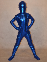 Anime Costumes AF-S2-313988 Shiny Metalic Unisex Kid's Halloween Zentai