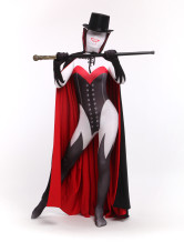 Anime Costumes AF-S2-315878 Vampire Zentai Suit Halloween Lycra Spandex Demon Costume Including Cloak and Suit