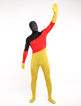Anime Costumes AF-S2-315856 Halloween Unisex German Flag Lycra Spandex Cool Multicolor Zentai Suits