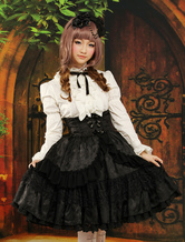 Lolitashow Gothic Multi Color Jacquard Sweet Lolita Outfits